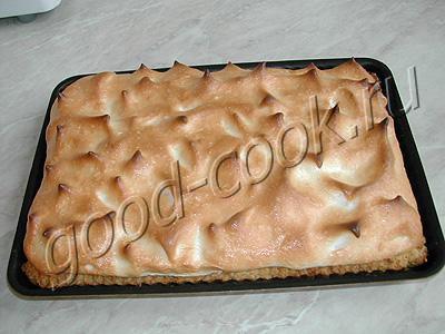 американский цитрусовый пирог
