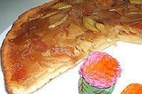 творожный яблочно-карамельный пирог