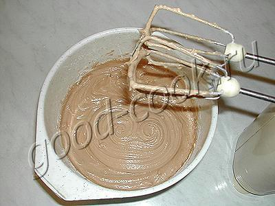 шоколадно-яблочный рулет