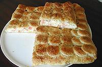 слоеный пирог с соленым лососем