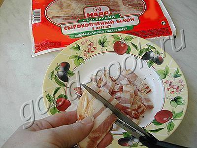 пирог с цветной капустой в сырной заливке