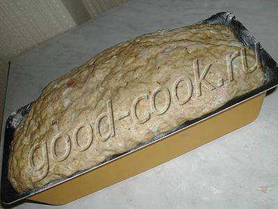 овсяный хлеб с беконом