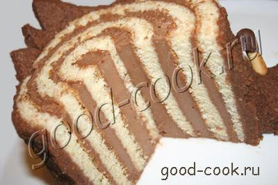 рецепты пеньков или ежиков бисквит