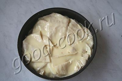 пирог из лаваша с курагой
