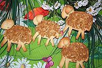 пасхальный барашек-1 (с сахарной посыпкой)