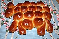 пасхальный барашек-3 (из пирожков)
