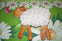 пасхальный барашек-4 (с безе)