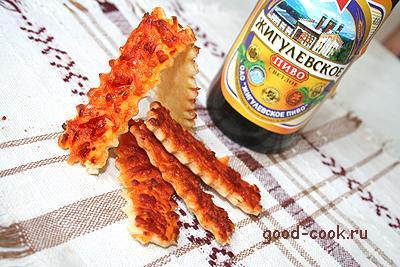 масляное печенье к пиву