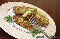 оладьи из кабачков (соленые)