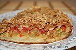 пирог с кабачками и помидорами