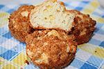 кексы с цветной капустой и сыром