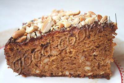 Песочный торт с арахисом и сгущенкой — Кулинарные рецепты любящей жены | 267x400