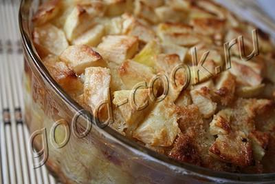 как приготовить пудинг из черствого хлеба