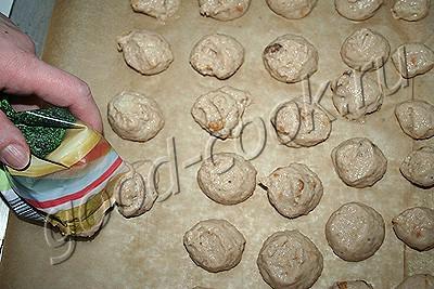 грушево-банановое печенье