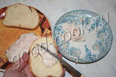 гренки с салом
