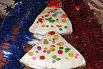 сметанный торт-суфле Зимняя елочка