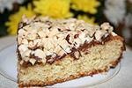 пирог с двумя видами шоколада и фундуком