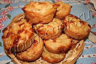 овсяные кексы с сыром