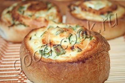 пирожки-рулеты с картофельным пюре
