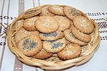 ржано-пшеничные крекеры