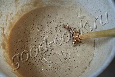 ржано-пшеничный хлеб на квасе