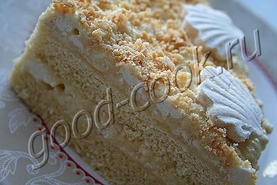 торт с зефирным кремом