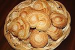 слоеное сахарное печенье