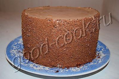 творожный торт-суфле с белым и чёрным шоколадом