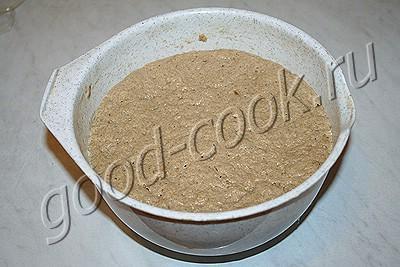 ржано-пшеничный хлеб на пиве