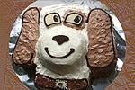 торт Щенок