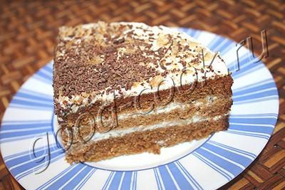 торт медовый песочный рецепт