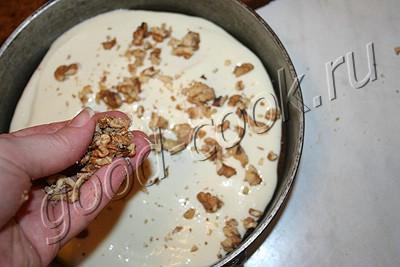 простой медовый торт с творожным кремом