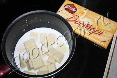 мягкий шоколадный крем на сгущённом молоке