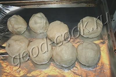 варёно-печёные булочки со сливами