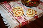печенье Рулеты с сухофруктами