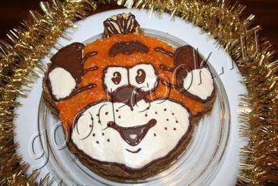 "торт ""Тигренок"""