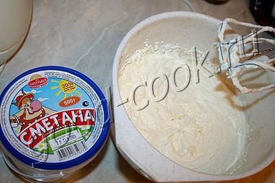 медовый торт с кремом из кураги