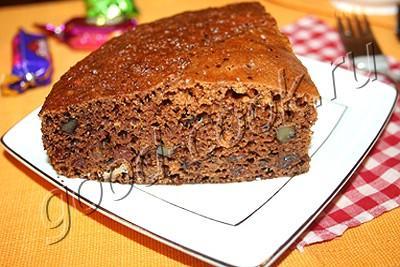 медовый пирог на скорую руку
