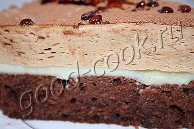 """торт """"Кофейно-сливочный соблазн"""""""