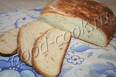 хлеб с печеным картофелем