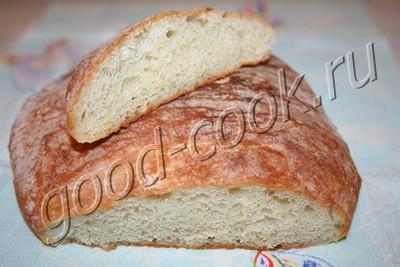 простой хлеб без замеса