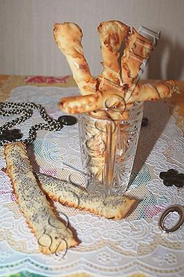 чесночные хлебные палочки