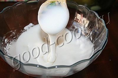 лимонная глазурь