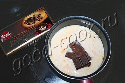 рулет с двумя видами шоколада