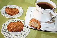 овсяное печенье с апельсиновыми цукатами