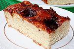 дрожжевой пирог с глазурью