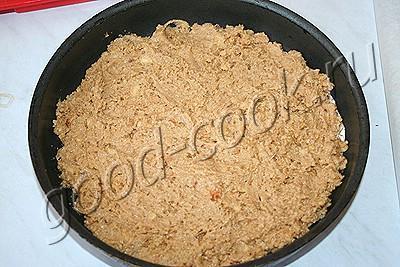 пирог из печенья со щавелем