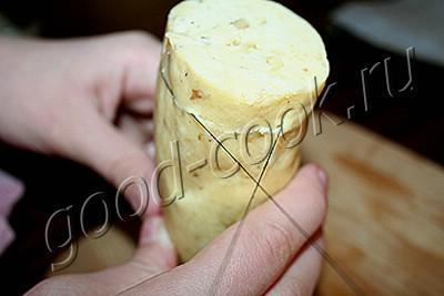 ореховое печенье с глазурью