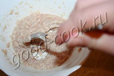 оладьи с мясом (быстрые беляши)