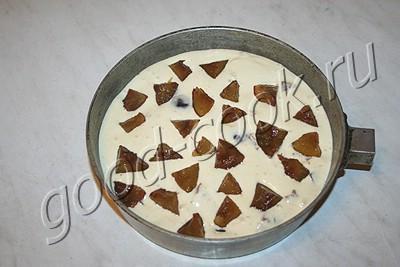 простейший сливовый пирог